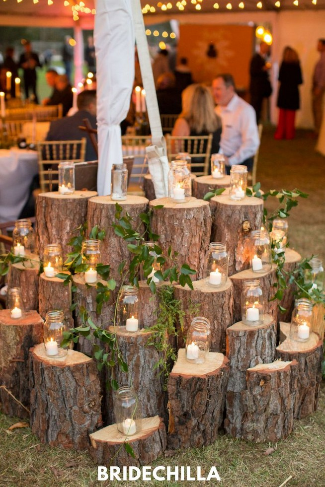 15 Rustic Backyard Outdoor Wedding Ideas 78