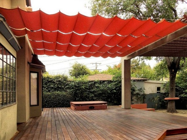 16 Deck Canopy Exterior Remodel Ideas On A Budget 23