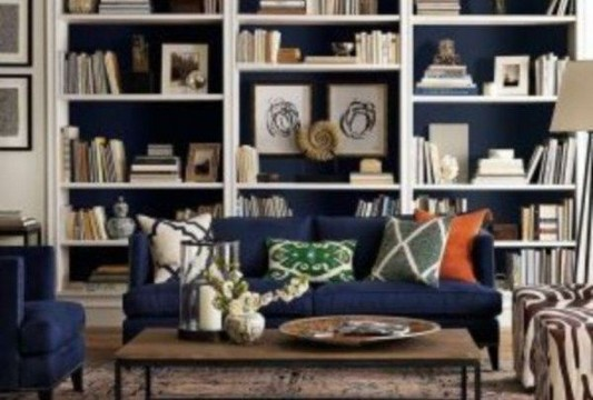 16 Elegant Living Room Shelves Decorations Ideas 32