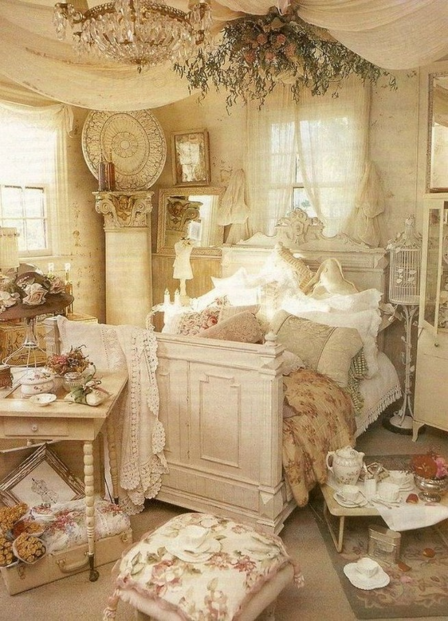 18 Shabby Chic Bedroom Design Ideas 18