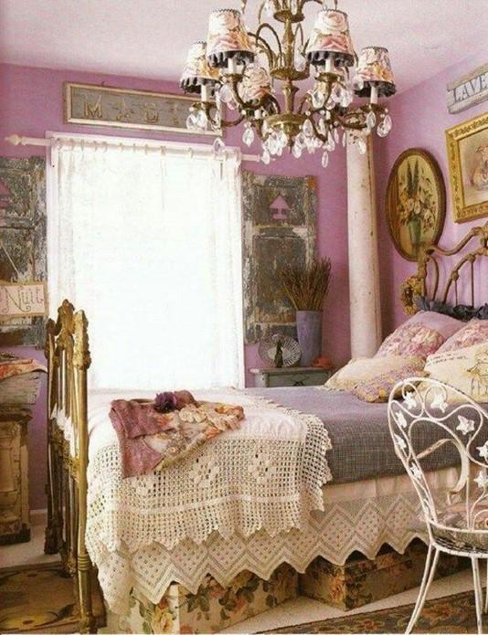 18 Shabby Chic Bedroom Design Ideas 34