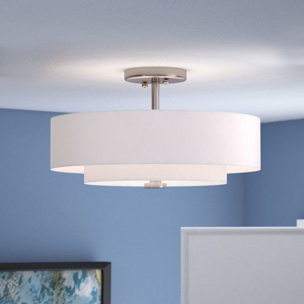 Flush Mount Bedroom Lighting 18