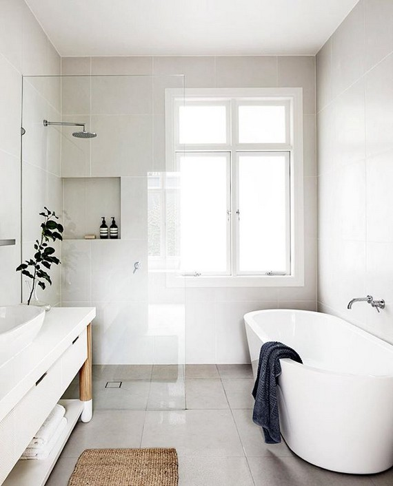 12 Cute And Minimalist Bathroom Design Ideas 32