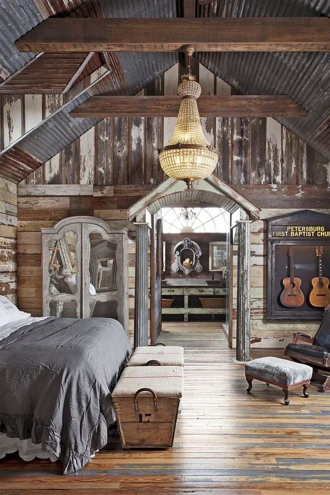 12 Unique Farmhouse Bedroom Remodel Ideas 11