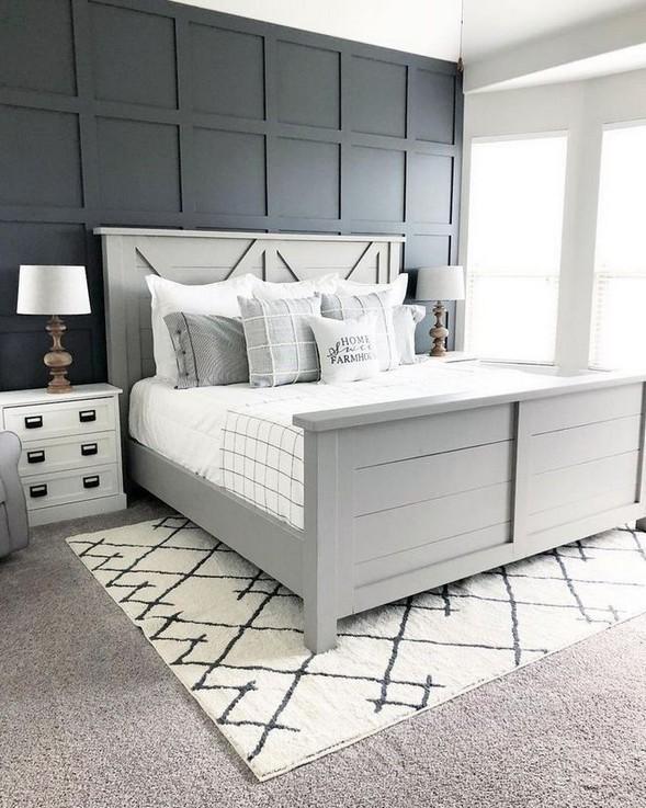 12 Unique Farmhouse Bedroom Remodel Ideas 32