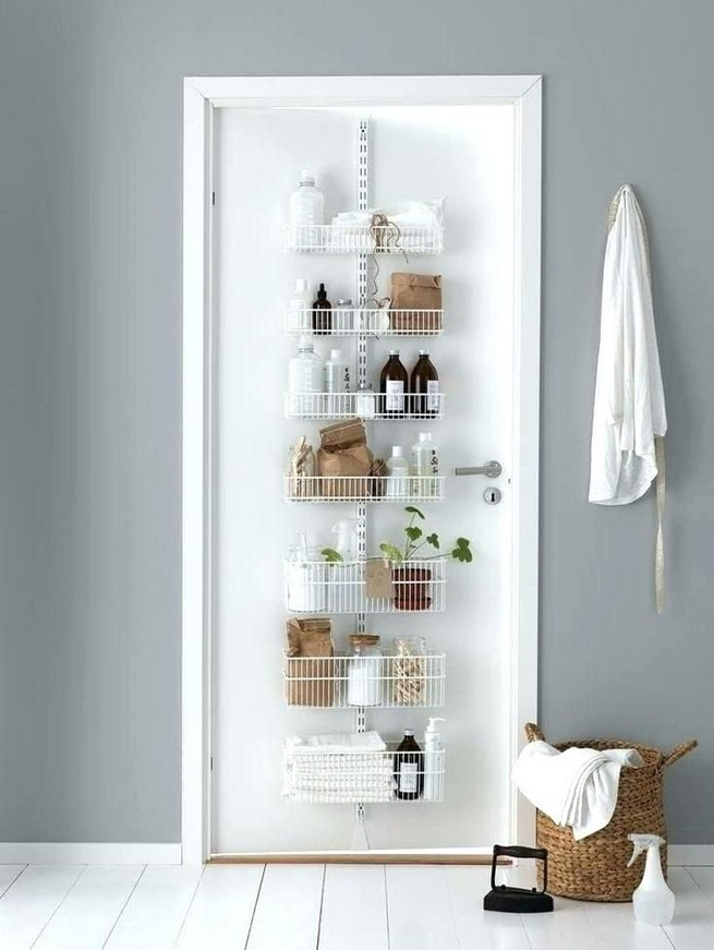 13 Creative Diy Wall Hanging Storage Ideas For Bathroom 14