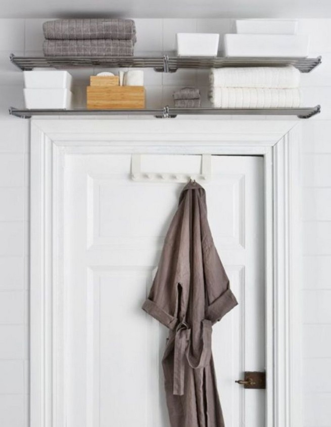 13 Creative Diy Wall Hanging Storage Ideas For Bathroom 55