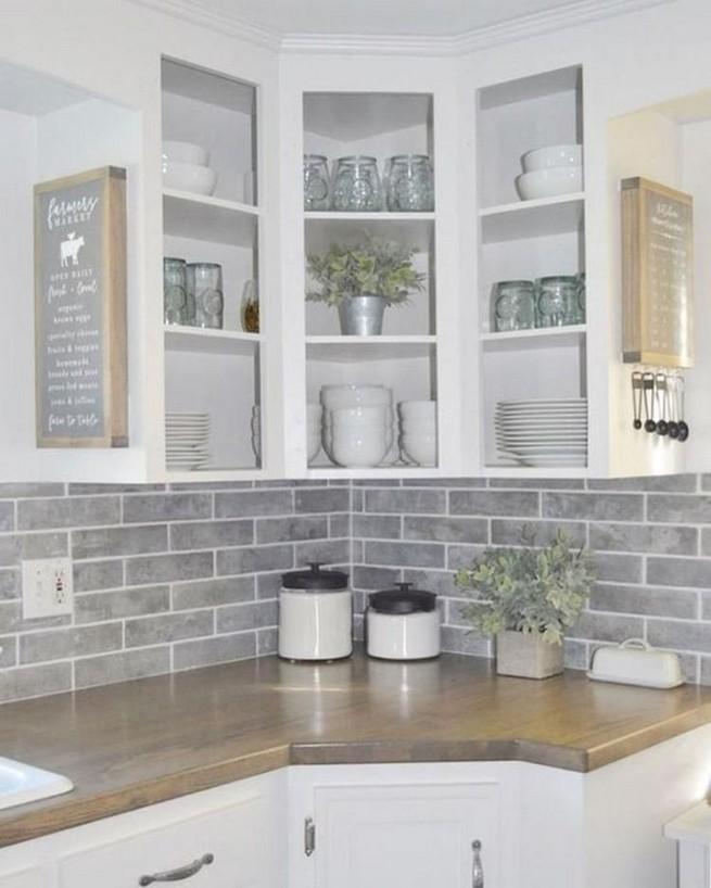 13 Creative Farmhouse Kitchen Decor Ideas 16