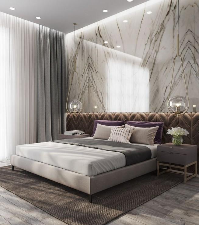. 14  Modern Luxury Bedroom Inspirations   lmolnar