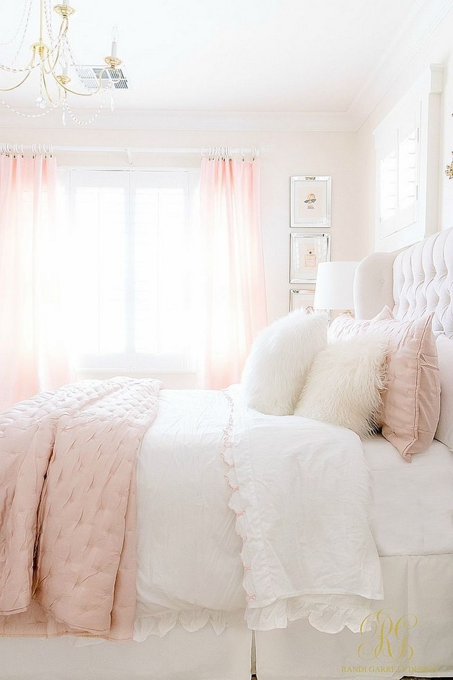 15 Cute Pink Bedroom Designs Ideas That Are Dream Of Every Girl 27