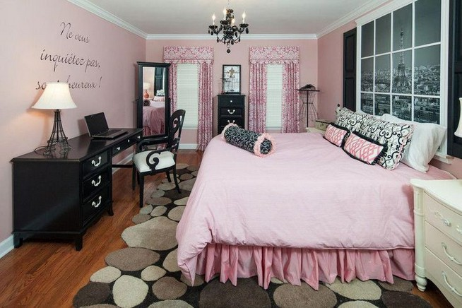 15 Cute Pink Bedroom Designs Ideas That Are Dream Of Every Girl 38