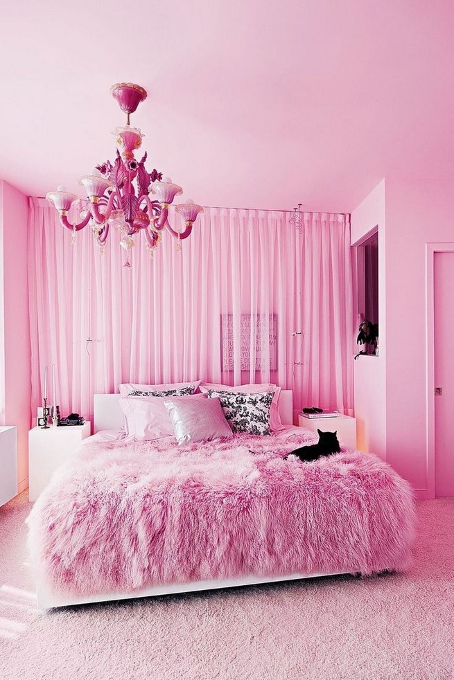 15 Cute Pink Bedroom Designs Ideas That Are Dream Of Every Girl 45