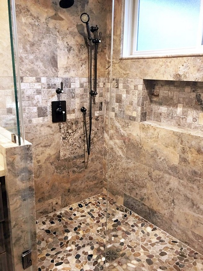 18 Stylish Bathroom Designs Ideas With Addition Of Stone For Elegant Look 08