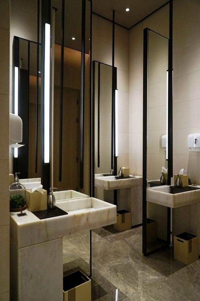 19 Captivating Public Bathroom Design Ideas 03