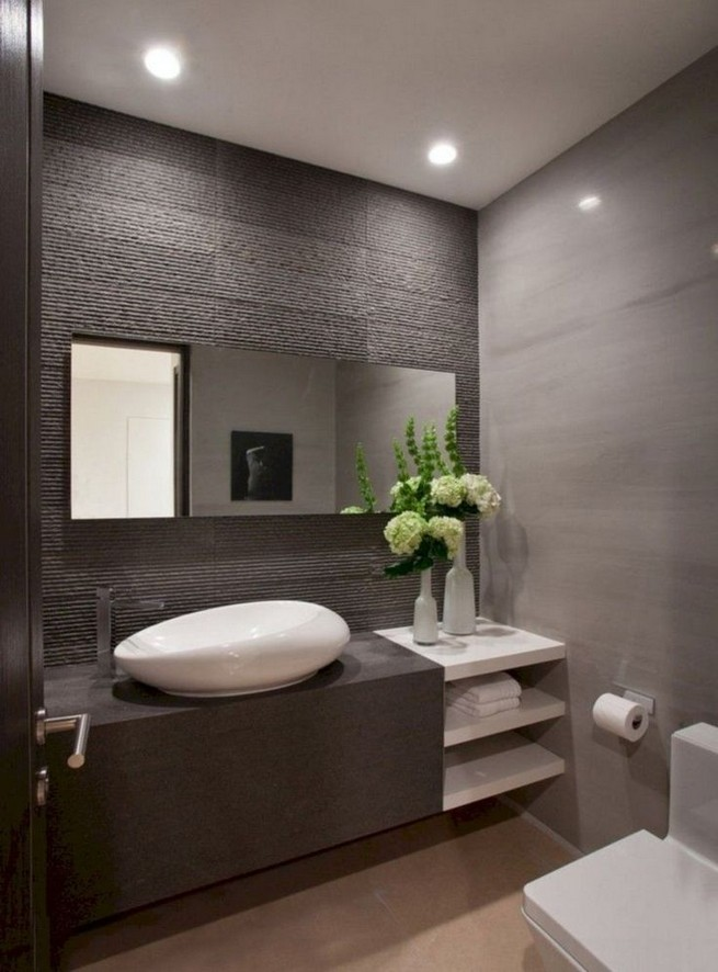 19 Captivating Public Bathroom Design Ideas 45