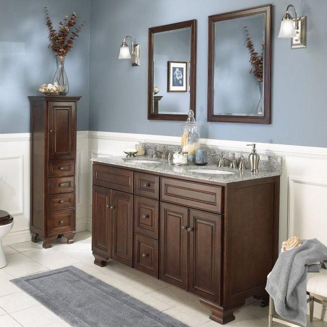 19 Delight Contemporary Dark Wood Bathroom Vanity Ideas 11