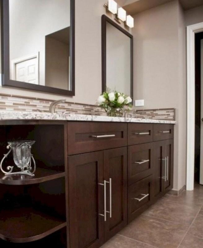 19 Delight Contemporary Dark Wood Bathroom Vanity Ideas 26