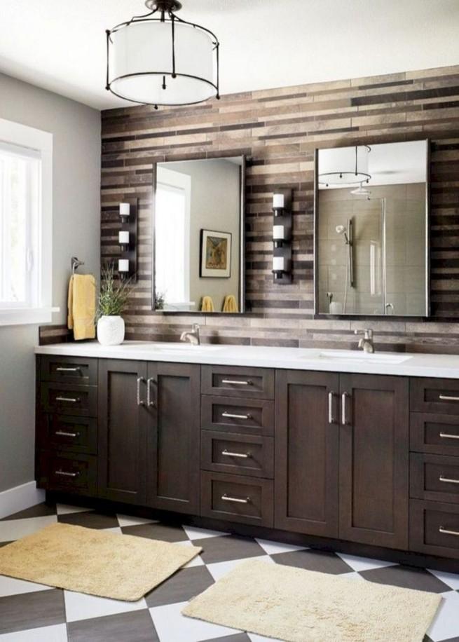 19 Delight Contemporary Dark Wood Bathroom Vanity Ideas 32