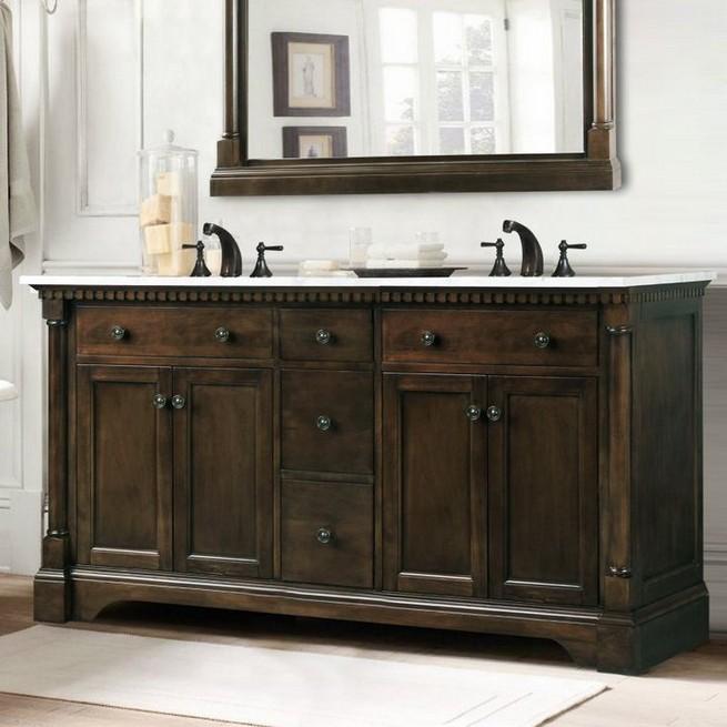 19 Delight Contemporary Dark Wood Bathroom Vanity Ideas 42