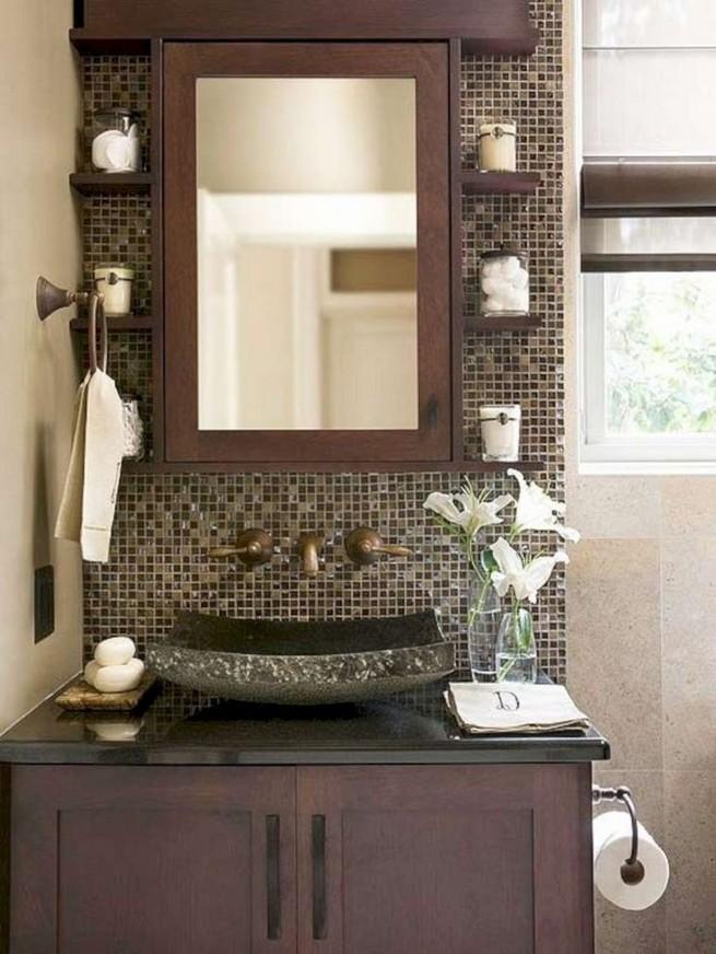 19 Delight Contemporary Dark Wood Bathroom Vanity Ideas 43