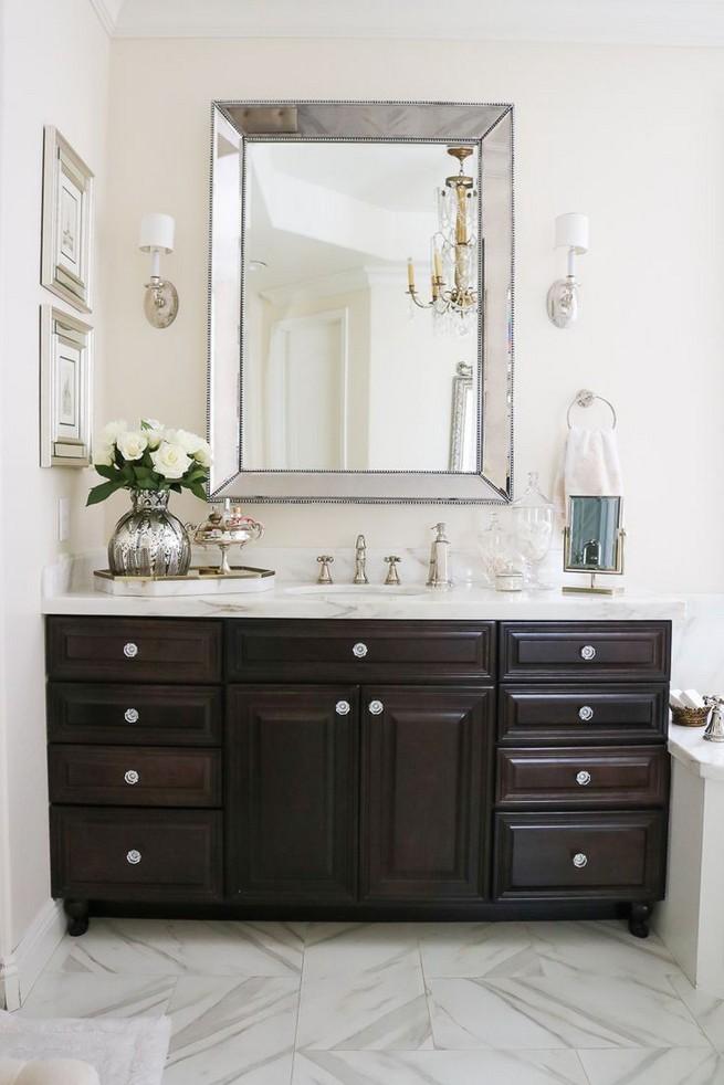 19 Delight Contemporary Dark Wood Bathroom Vanity Ideas 60
