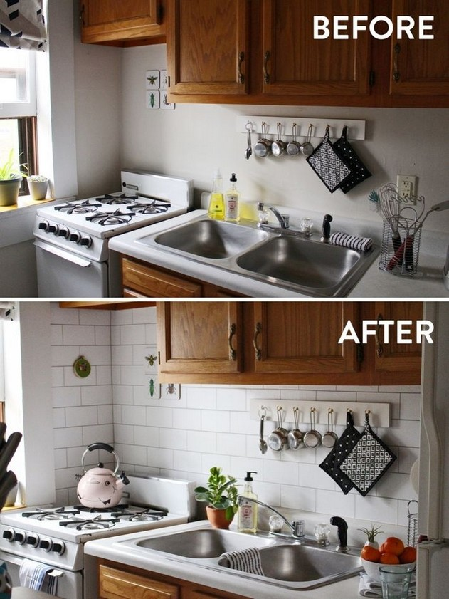 19 Easy Kitchen Backsplash Ideas 07