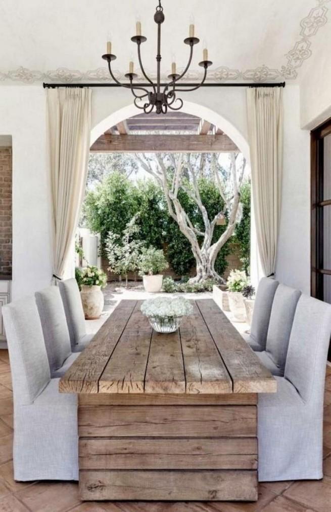 19 Fancy Farmhouse Dining Room Design Ideas 28