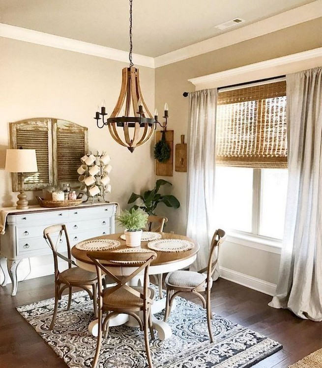 30 Dining Room Decorating Ideas: 19 Fancy Farmhouse Dining Room Design Ideas