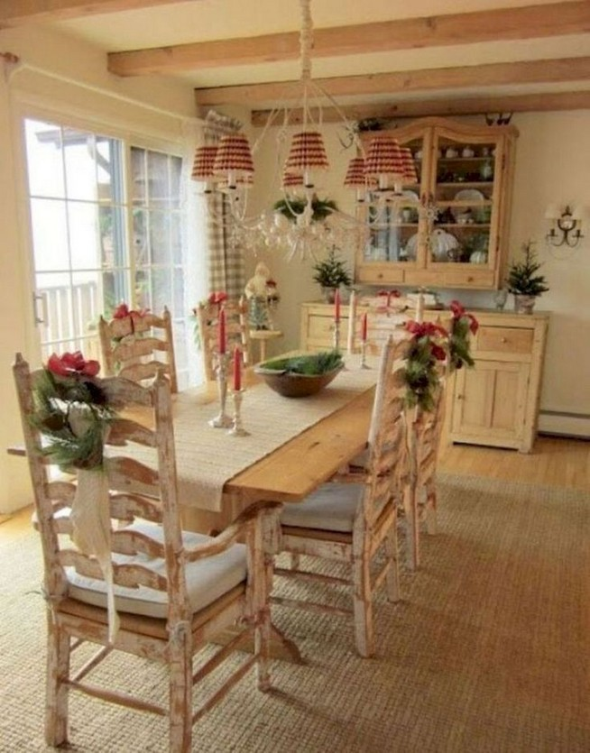 19 Fancy Farmhouse Dining Room Design Ideas 58