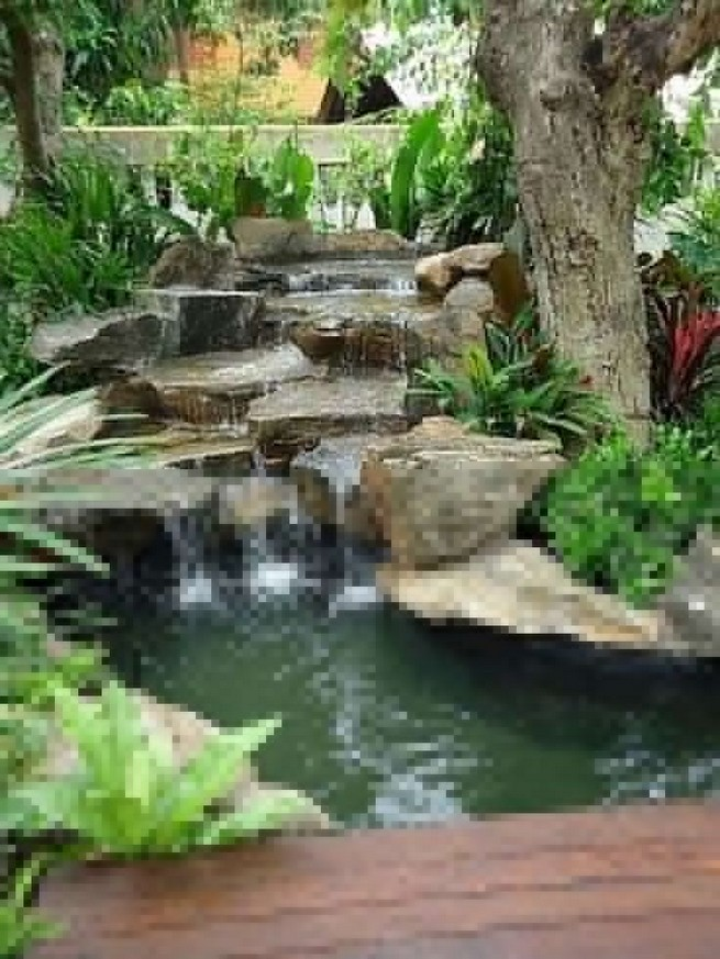 19 Gorgeous Backyard Ponds Water Garden Landscaping Ideas 07