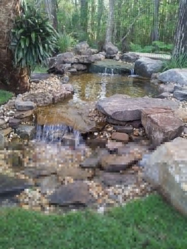 19 Gorgeous Backyard Ponds Water Garden Landscaping Ideas 18