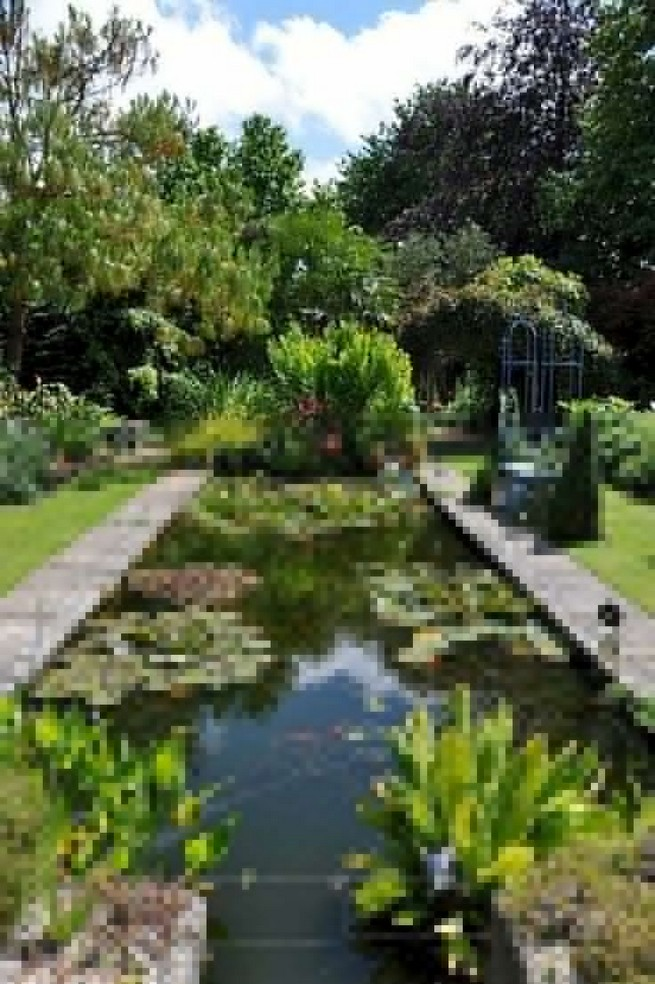 19 Gorgeous Backyard Ponds Water Garden Landscaping Ideas 52