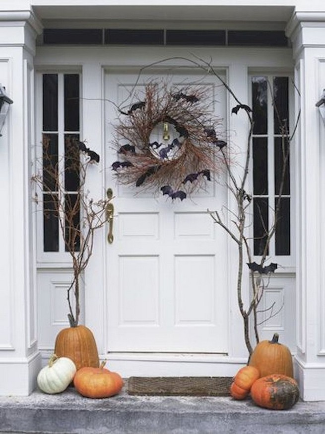 20 Adorable Diy Halloween Wreaths Design Ideas 18