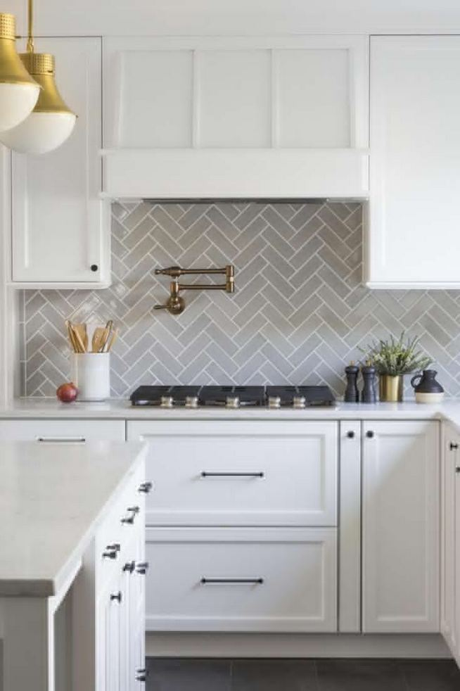 13 Elegant Grey Kitchen Backsplash Ideas Inspiration 34