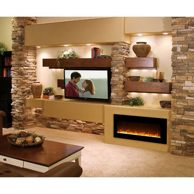 13 Impressive Living Room Ideas With Fireplace And Tv 17
