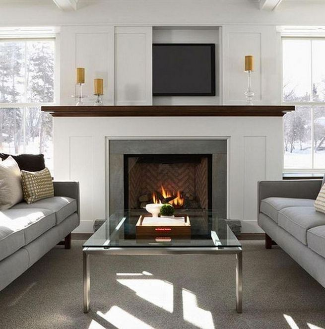 13 Impressive Living Room Ideas With Fireplace And Tv 27
