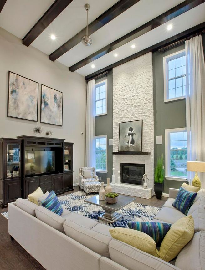 13 Impressive Living Room Ideas With Fireplace And Tv 28