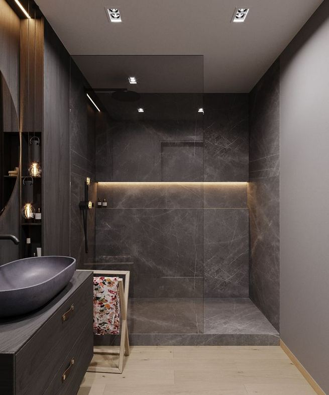 14 Relaxing Luxury Master Bathroom Design Ideas With Rustic Style 25
