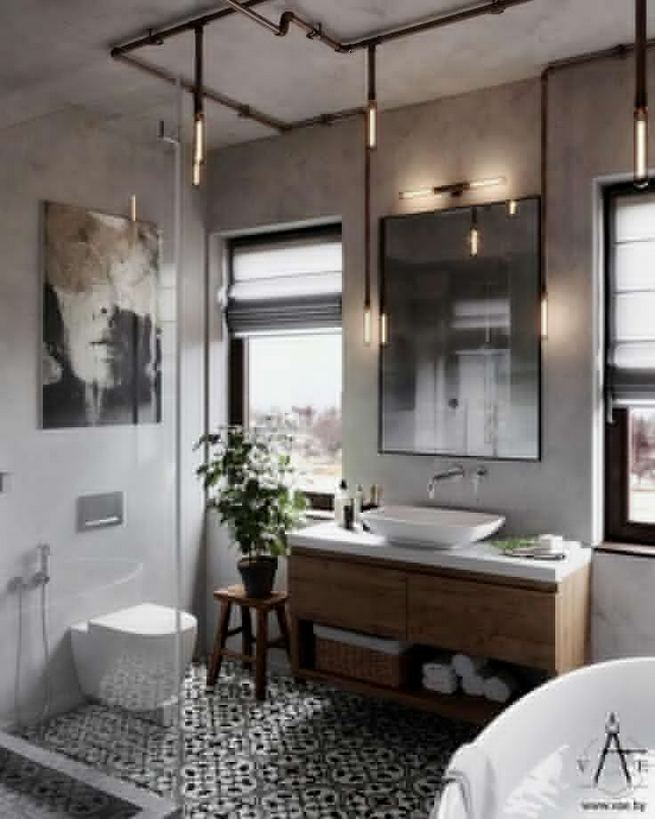 14 Relaxing Luxury Master Bathroom Design Ideas With Rustic Style 29