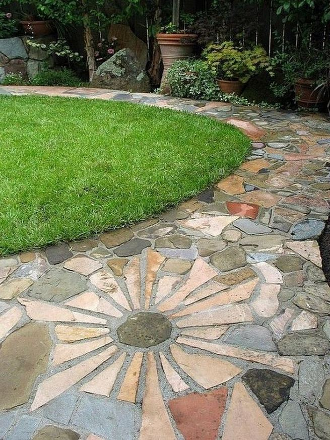 15 Beautiful Front Yard Patio Designs Ideas 42