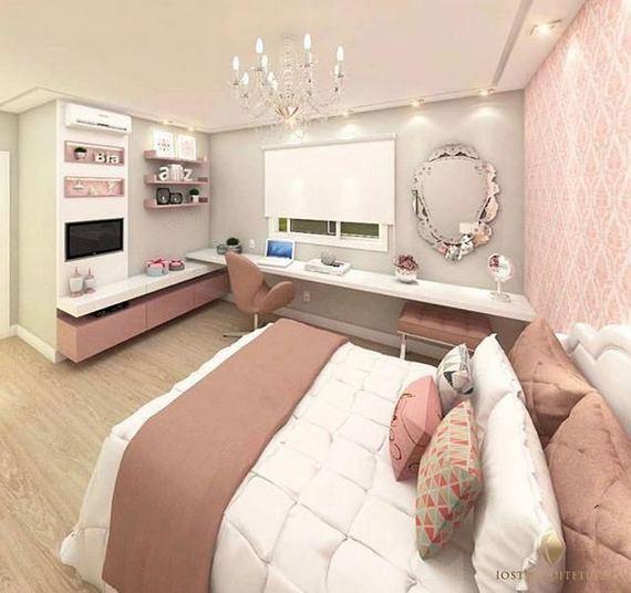 15 Cute Small Teen Bedroom Ideas 25