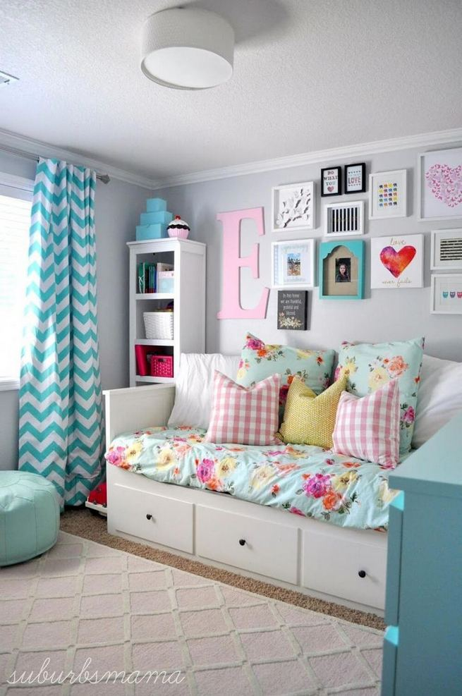 15 Cute Small Teen Bedroom Ideas 37
