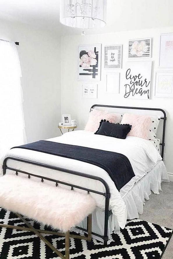 15 Cute Small Teen Bedroom Ideas 38