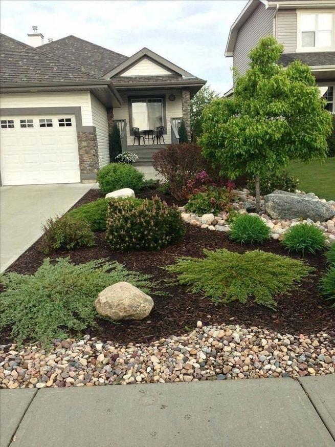 15 Elegant Front Sidewalk Landscaping Ideas 32