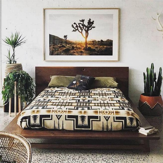 17 Inspiring Bohemian Style Bedroom Decor Design Ideas 04
