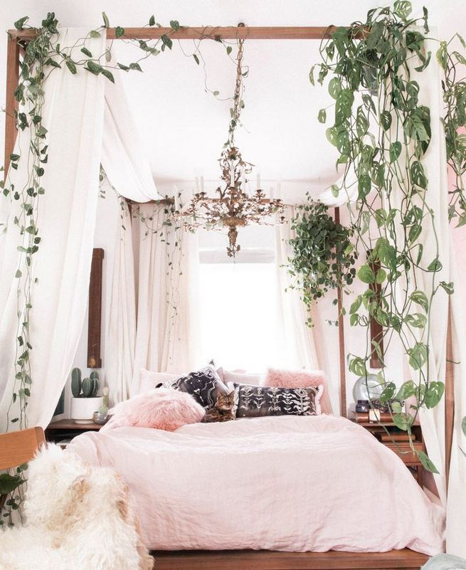 17 Inspiring Bohemian Style Bedroom Decor Design Ideas 19