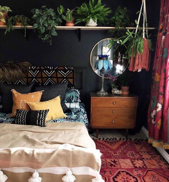 17 Inspiring Bohemian Style Bedroom Decor Design Ideas 26