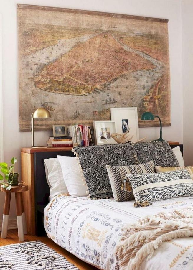 17 Inspiring Bohemian Style Bedroom Decor Design Ideas 50