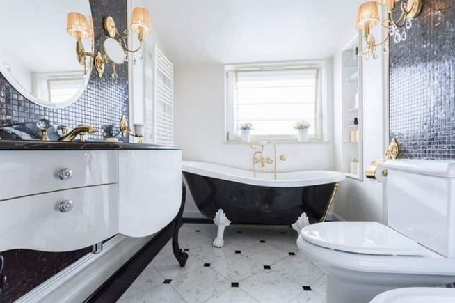 17 Modern Bathrooms With Clawfoot Tubs 34