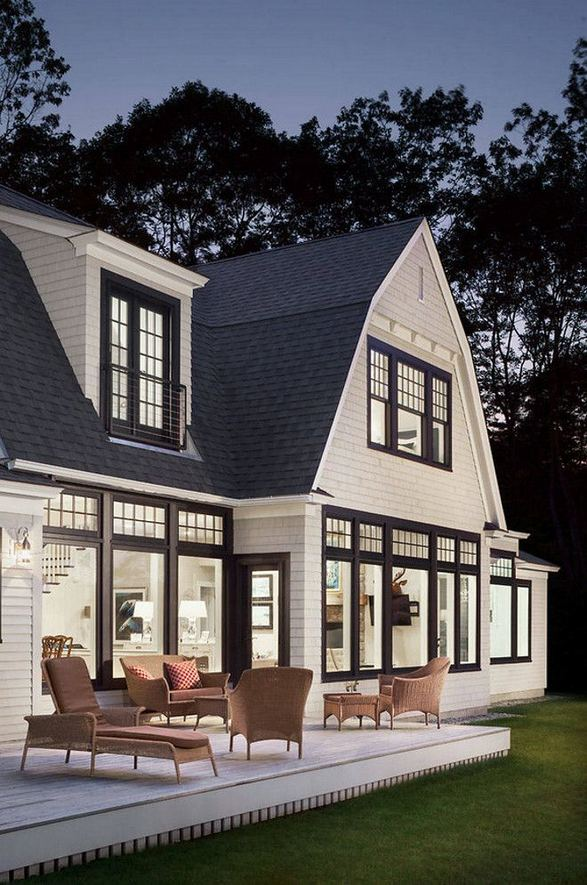 18 Best Ideas For Black House Exterior Design 30